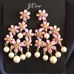 J crew dangler earrings